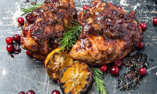 Baked Cranberry Chicken