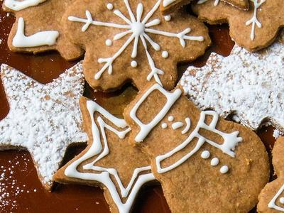 Baked Gingerbread Cookies Recipe
