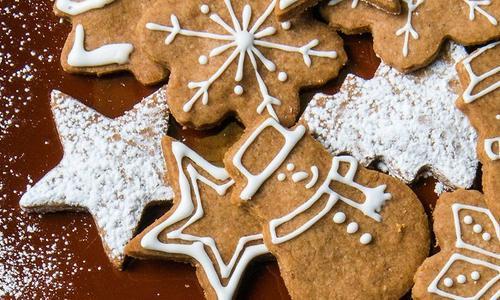 Baked Gingerbread Cookies