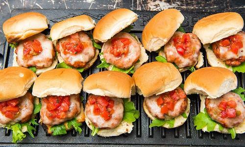 Spicy Grilled Pork Sliders
