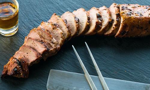 Kentucky Grilled Pork Tenderloin