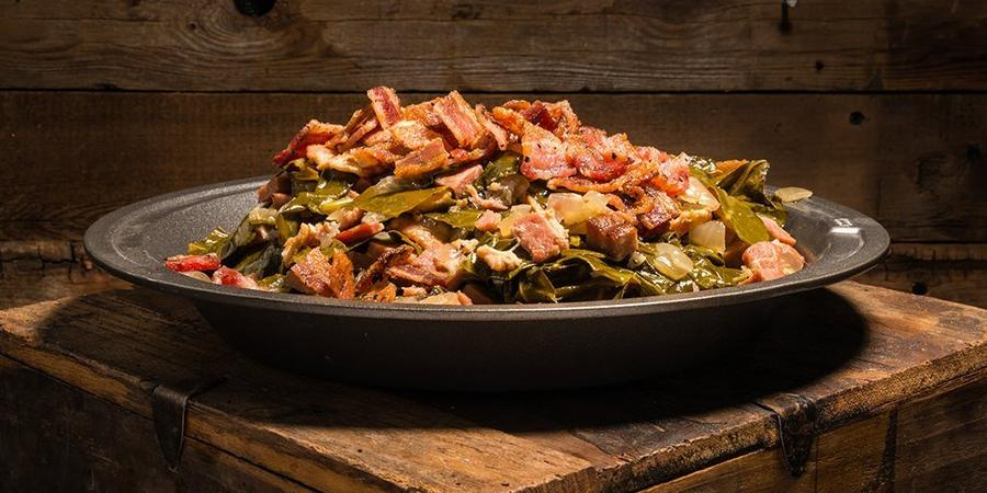 image of Braised Collard Greens & Bacon