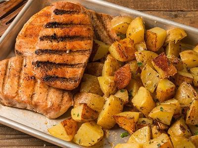 Seared BBQ Pork Chop Recipe