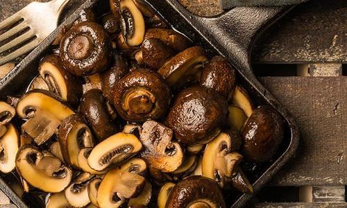 Smoked Mushrooms