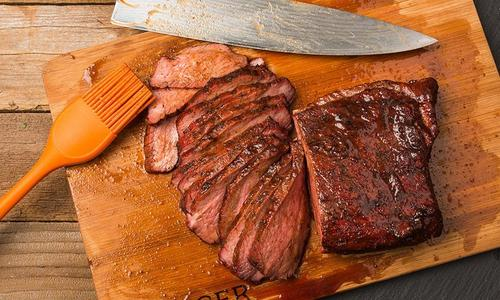 Sweet and Spicy Beef Sirloin Tip Roast