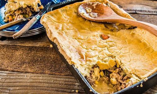 Baked Wild Turkey Pot Pie
