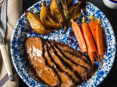 Braised Mediterranean Beef Brisket Recipe