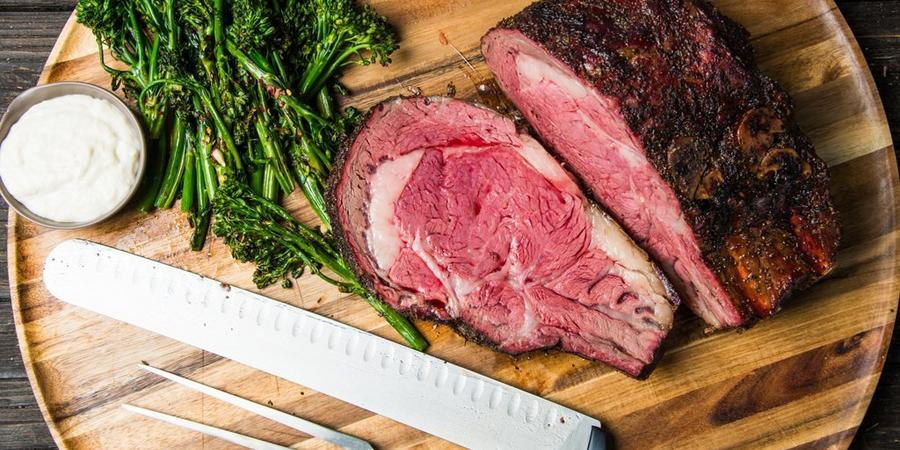 image of Slow Smoked and Roasted Prime Rib