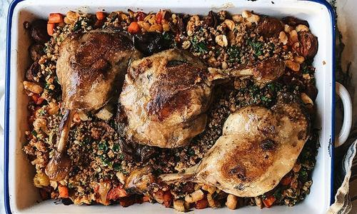 Smoked Cassoulet With Duck Confit