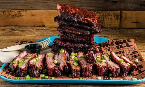 Gochujang Marinated BBQ Pork Ribs