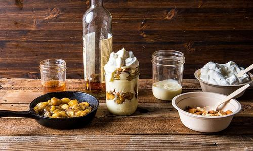 Smoked Banana Pudding