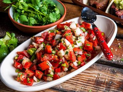 Smoked Pico De Gallo by Chef Timothy Hollingsworth