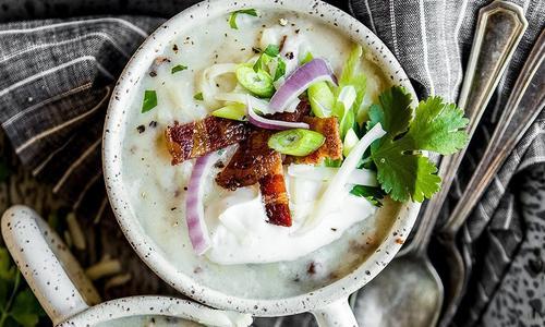 Smoked Baked Potato Soup