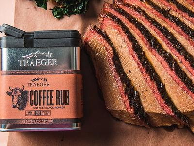 BBQ Brisket with Traeger Coffee Rub Recipe