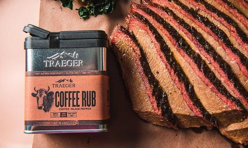 BBQ Brisket with Traeger Coffee Rub