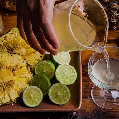 How to Make Smoky Grilled Pineapple Cocktail Syrup