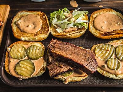 BBQ Brisket Sandwich With Special Sauce Recipe