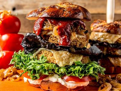 Grilled Veggie Burger Recipe