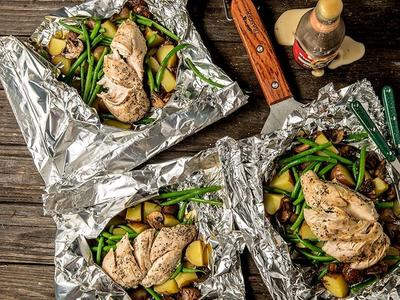 Roasted Tin Foil Dinners Recipe