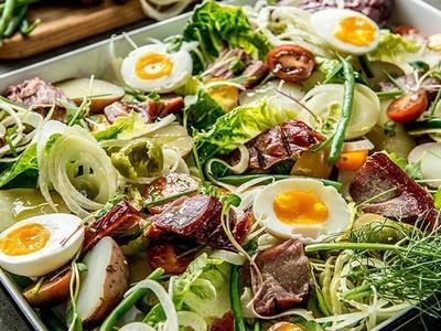 Smoked Albacore Tuna Nicoise Salad Recipe