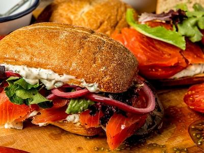 Smoked Salmon Sandwich Recipe