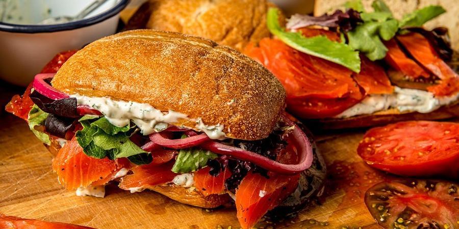 image of Smoked Salmon Sandwich