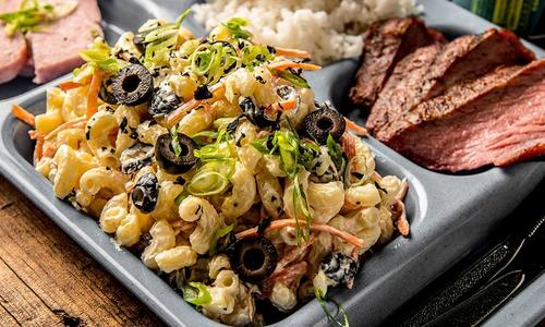 Smoked Hawaiian Macaroni Salad