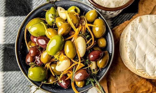 Smoked Olives