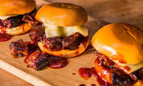 BBQ Burnt End Sandwich