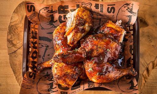 BBQ Spatchcocked Chicken