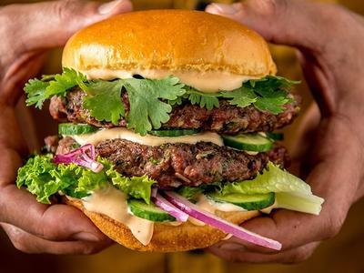 Ultimate Grilled Lamb Burger Recipe