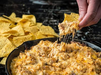 Baked Buffalo Chicken Dip Recipe