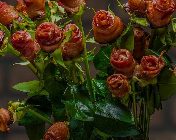 How To Make Bacon Rosesimage