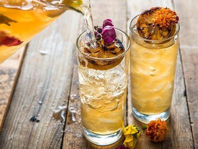 Smoked Spring Tea Cocktail Recipe