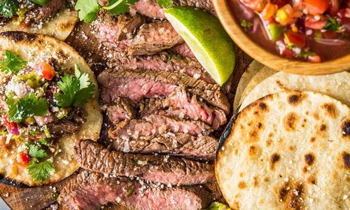 Grilled Carne Asada Skirt Steak
