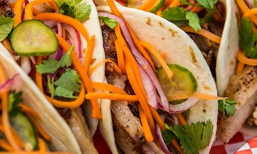 BBQ Pork Belly Tacos