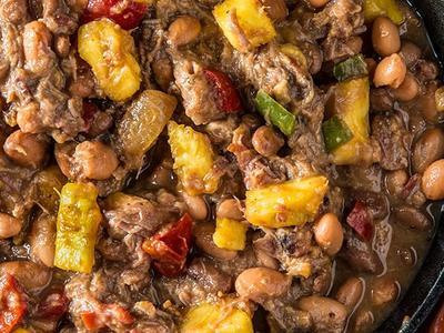 Hawaiian BBQ Baked Beans Recipe