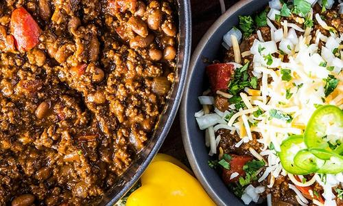 Smoked Chili Con Carne