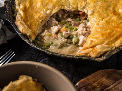 Baked Chicken Pot Pie Recipe
