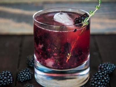 Blackberry Bourbon Smash Recipe