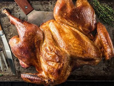 Spatchcocked Maple Brined Turkey Recipe