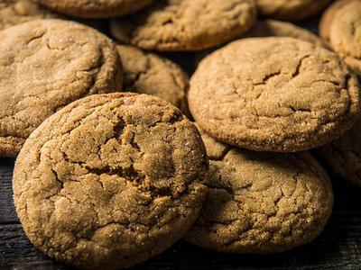 Baked Soft Gingerbread Cookie Recipe