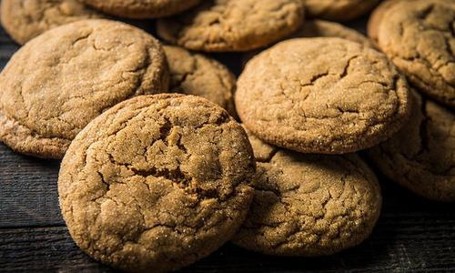 Baked Soft Gingerbread Cookie