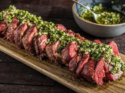 Roasted Beef Tenderloin With Gremolata