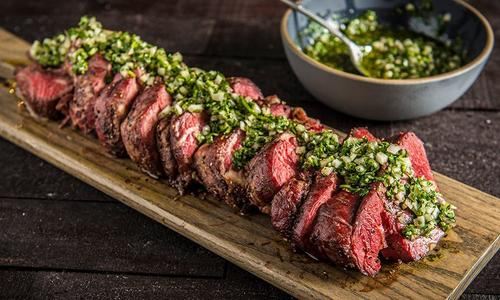 Roasted Beef Tenderloin With Gremolata