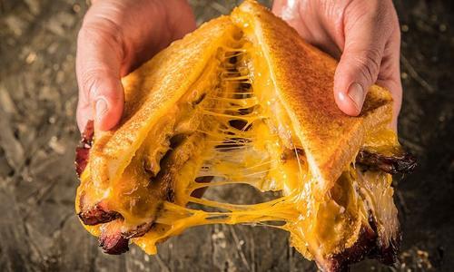 BBQ Brisket Grilled Cheese