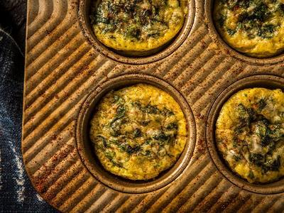 Baked Breakfast Mini Quiches Recipe