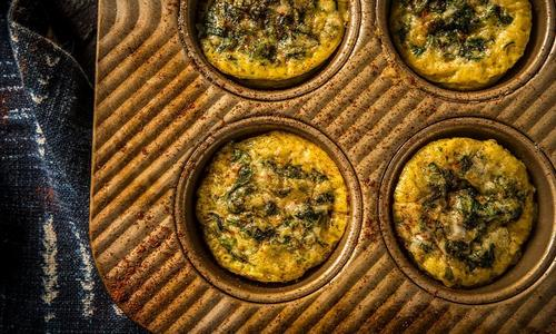 Baked Breakfast Mini Quiches