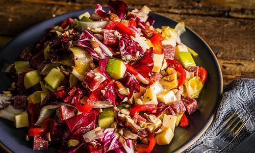 Grilled Winter Chop Salad