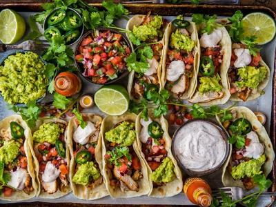 Loaded Grilled Chicken Tacos Recipe